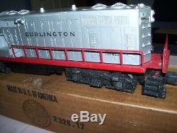 Old Vintage Lionel No. 2328 Burlington Locomotive Diesel Avec Boîte D'origine Domaine