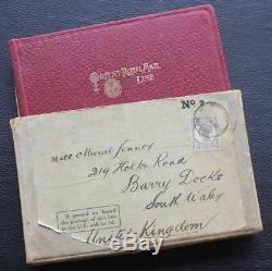 Orient Ligne Superbe & Rare Near Mint Carte Postale Livre En Boîte D'origine Publié 1909
