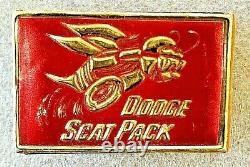 Original 1968 1971 Dodge Scat Pack Dealer Match Box Mopar Rare! 1969 1970 71