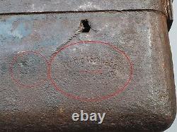 Original Allemand Ww2 5cm Mortar Round 5 CM L. Gr. W. 36 Boîte De Transport / Cas