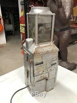 Original Antique Fare Box Trolleybus Street Car Argent Collection Token No. 6 Vieux