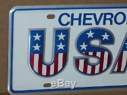 Original Boîte De Usa1 License Mots Clés Made Pour Chevrolet Concessionnaire À Utiliser Sur Showroom Cars