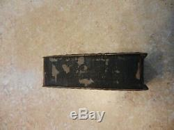 Original Vintage Hendee Mfg. Pocket Co. Motorcyles Indian Copper Match Box Safe