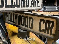 Original Vintage Untouched Grand Rue Double Coin Deuxième Signe Hollywood &