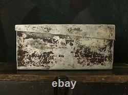 Original Ww2 Relic Allemand Mg Aluminium Munitions Boîte De Transport / Boîtier (hdk)