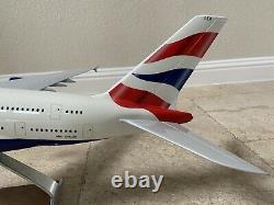 Pacmin 1/100 British Airways Airbus A380-841 G-xleh Msn 163 Modèle Original Box