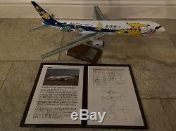 Pacmin Ana Pokemon Jet 1/100 1998 Boeing 767-300 Nouveau Avec Le Livre Et La Boîte Originale