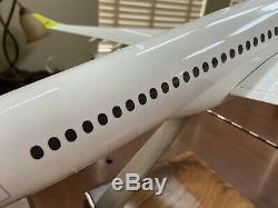 Pacmin Grande 1/55 Air Baltic Airbus A220-300 (cs300) Avec La Boîte Originale