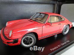 Porsche 911 Carrera 1988 Autoart 118 Période Correcte Authentique Rareoriginal Box