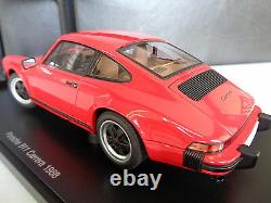 Porsche 911 Carrera 1988 Autoart 118 Période Corrigé Boîte Originale Authentique Rare
