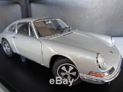 Porsche 911 S (1967) 118 Autoart Bonne Période Authentique Silveroriginal Box
