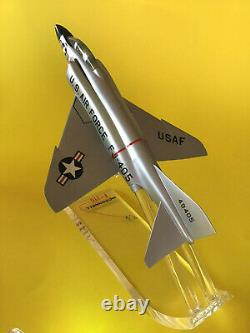 Precise / Mcdonnell F-110 Early Phantom II Airplane Display Modèle Original Box