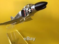 Précise / Mcdonnell F-110 Early Phantom II Avion Affichage Modèle Boîte D'origine