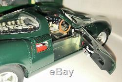 Rare 1/18 Diecast Autoart Vert Jaguar Xj13 Avec Boîte Originale 73541