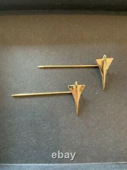 Rare- Liens De Londres / Concorde Paire D'épingles Dans La Boîte Originale (nouveau)