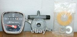 Schwinn 16 Pouces Krate Speedometer Complete Boîte D'origine Grand État Près De Nos