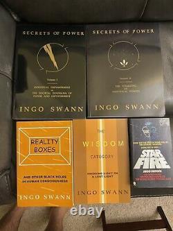 Secrets De Pouvoir Par Ingo Swan 1 & 2 Boîtes De Réalité La Sagesse Vue À Distance Phyique