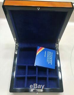 Southwest Airlines D'origine Exécutif Appréciation Des Employés Anniversaire Boîte À Bijoux