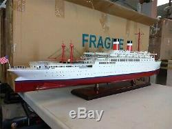 Ss Indépendance Paquebot Ship Model 34 Original Box- Livraison Gratuite