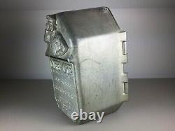 Très Rare, Original Curb-cop. Parking Meter Fine Box Années 1940, Decatur, Alabama
