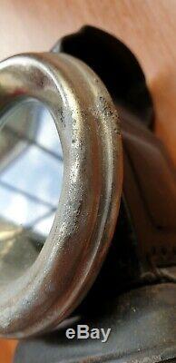 Trois Étoiles Vintage Huile Cycle Vélo Paraffine Lampe Utilisé Dans La Boîte D'origine