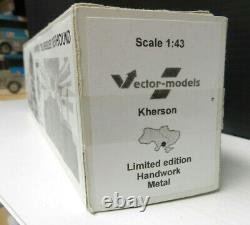 Vector Models Greyhound Pd-4151 Silversides 143 Échelle Avec Boîte Originale