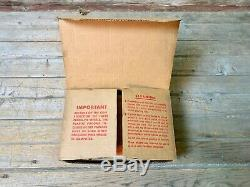 Veeder Rare Original Vintage Racine Perma-vis De Pompe À Gaz D'ordinateur Roues En Boîte