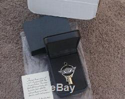 Véritable Harley Davidson 100e Anniversaire Key Gold Original Box Oem Nouveau Nos