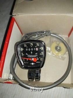 Vieille Schwinn 26-24 Pouces Deluxe Speedometre En Box Original