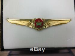 Vintage Air Canada Capitaine Pilote Ailes New Bond Dans L'encadré-boyd Toronto Canada