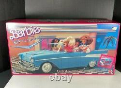 Vintage Barbie Blue 57 Chevy Nouveau Dans La Boîte. Jamais Ouvert