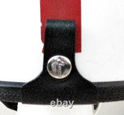 Vintage Buco Traveler Half Helmet Withear Flaps In Original Box 6 3/4 À 7 3/8 Nos