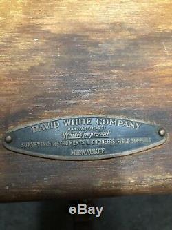 Vintage David White Transit Co. Niveau Dans La Boîte Originale C1