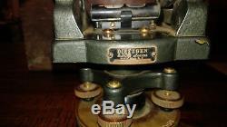 Vintage Dietzgen Modèle 6300 Transit Arpenteurs Withoriginal Box 1950