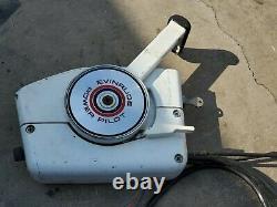 Vintage Evinrude Power Pilot Remote Control Box Avec Des Câbles De 13'