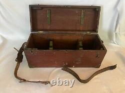 Vintage Instrument D'arpentage De Transit Avec Boîte D'origine