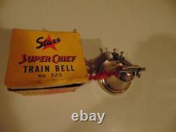 Vintage Nos Starr Super Chief Train Bicyle Bell Dans La Boîte Originale N ° 325