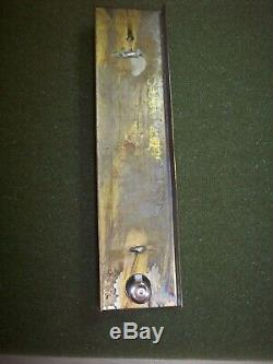 Vintage Nycrr Voie Ferrée Thermomètre Original Box Enveloppe De Travail Nos C9