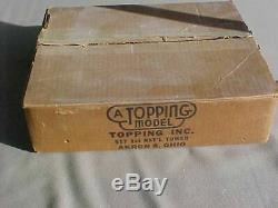 Vintage Original Topping Usaf Albatross Avion Bureau Modèle In Box