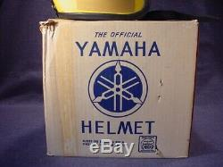 Vintage Racing Team Yamaha Randy Mamola Casque De Moto 1970 + Boîte Originale