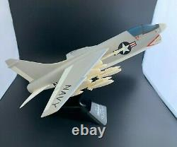 Vintage U. S. Navy A-7 Corsair II Desktop Model Complete Nos In Original Box