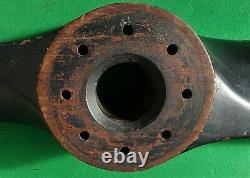 Ww2 Era'ox Box' Airscrew Wooden Propeller 1940 Dated Ex-airspeed As. 11 Oxford