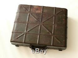 Ww2 Originale Relic Armée Allemande Transport Box / Case Pour M24 Gren. & Autre